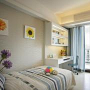 现代前卫儿童房卧室