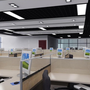 后现代风格办公室深色系