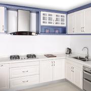 厨房白色橱柜图片