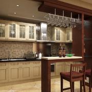 厨房小型置物吧台装饰