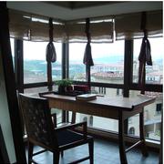 阳台小书桌欣赏
