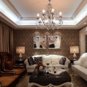客厅线条优美的家具