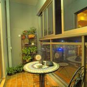 阳台宜家小餐桌