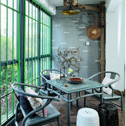 阳台东南亚装饰