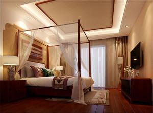 东南亚风格房间吊顶装饰