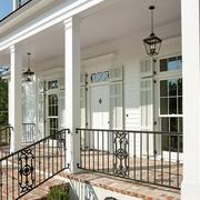 现代美式别墅围栏