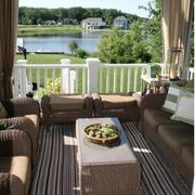 别墅舒适阳台装饰