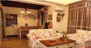 小户型韩式客厅沙发装饰