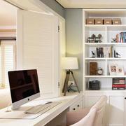 北欧风格简约清新书房装饰