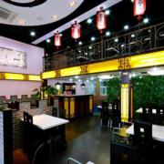 新中式风格火锅店