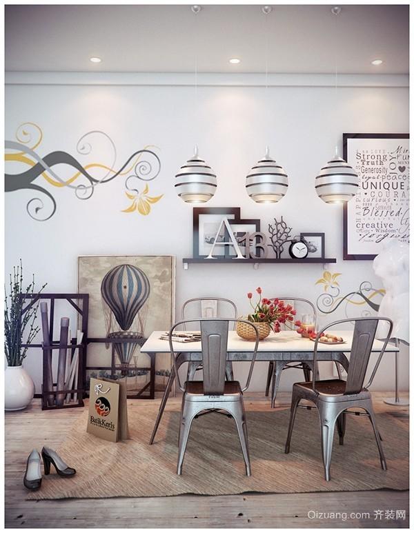 简约而不简单 现代简约风格餐厅装修效果图