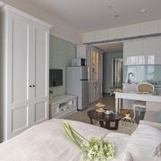 一居室公寓装潢设计