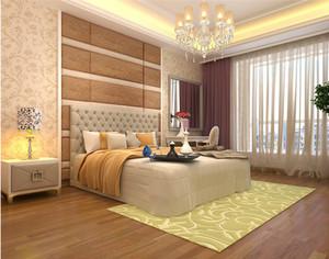 2015别墅卧室壁纸装修效果图