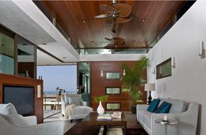 东南亚风格复式楼吊顶装饰