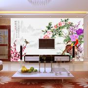 中式风情电视背景墙