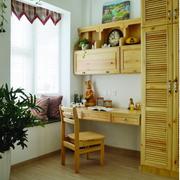 现代简约风格原木色卧室桌椅装饰