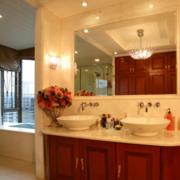 卫生间美式浴室柜展示