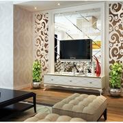 现代化简约客厅电视背景墙装饰