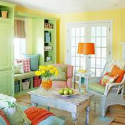 彩色家居客厅茶几