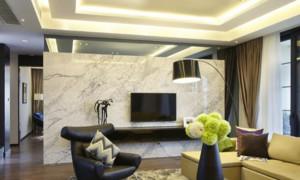 客厅大理石墙饰装饰