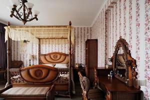 地中海风格卧室壁纸装修效果图