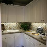 法式整体式厨房装饰效果图