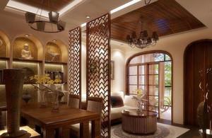 中式简约风格餐厅装饰