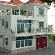 简单现代化的别墅
