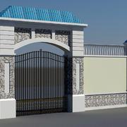 简约风格大型庄园围墙装饰