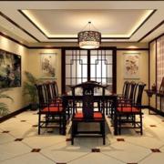 典雅简约的餐厅装潢