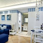 复式楼地中海风格餐厅效果图