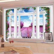 欧式田园风格背景墙装饰
