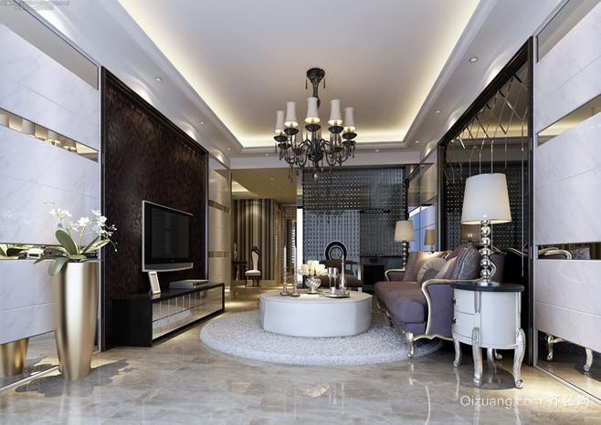现代简约风格客厅装修设计 时尚大气