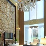 客厅独特电视背景墙