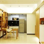 中式简约风格厨房整体置物架装饰