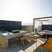 别墅简约风格露台阳台装饰