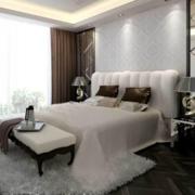 欧式简约风格卧室地板装饰