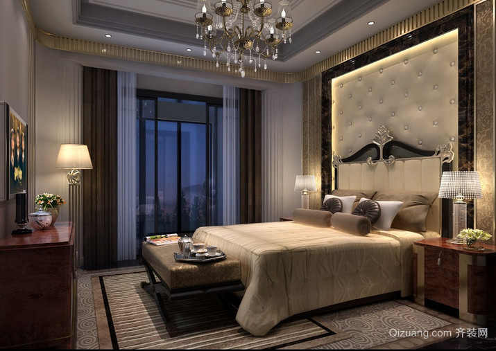 小户型卧室创意台灯装修效果图