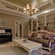 体面的家居客厅