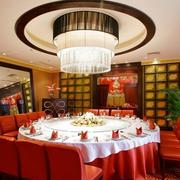 饭店包厢吊灯图片