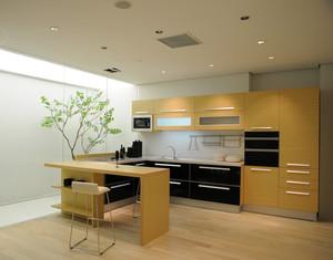 单身公寓欧式厨房欧派橱柜装修效果图