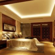 暖色调的家居大卧室