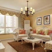 欧式客厅沙发背景墙装饰