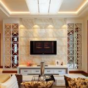 欧式奢华风格客厅墙饰装饰