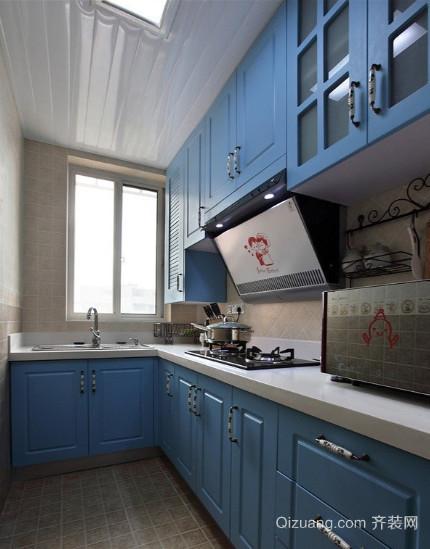 30平米地中海风格厨房装修效果图