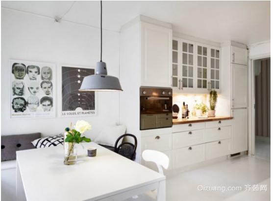 北欧小户型厨房装修效果图
