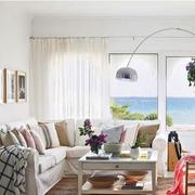 复式楼简约风格小户型客厅装饰
