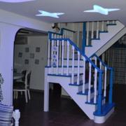现代化简约阁楼楼梯装饰