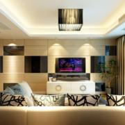 现代简约客厅吊灯