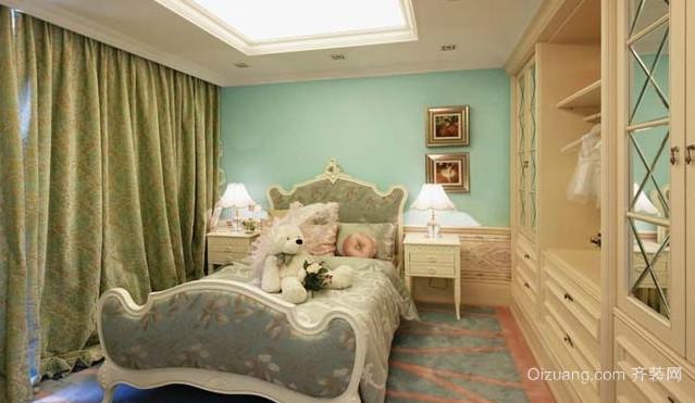 50平米小户型现代韩式卧室衣柜装修效果图